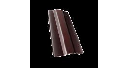 Защелка для кронштейна Гранд Лайн (Grand Line) Granite RAL 8017 шоколад, D 125/90 мм фото