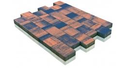 Тротуарная плитка BRAER Старый город Ландхаус Color Mix Техас, 60 мм фото