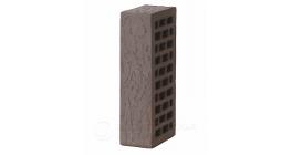 Кирпич керамический облицовочный пустотелый Вышневолоцкая керамика темно-коричневый дуб, 250×120×65 мм фото