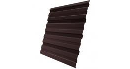 Профнастил фигурный Гранд Лайн (Grand Line) GL-10R 0,35, PE RAL 8017 шоколад фото