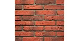 Искусственный камень Балтфасад Петровский красно-коричневый 290х60 мм фото