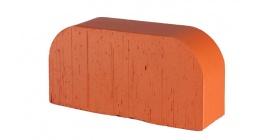 Кирпич керамический облицовочный радиусный полнотелый Lode Janka F14 гладкий 250*120*65 мм фото