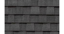 Мягкая кровля CertainTeed Landmark (3,097 м2/уп) Charcoal Black фото
