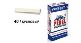 Цветной кладочный раствор PEREL NL 0140 кремовый, 50 кг фото