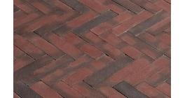 Клинкерная тротуарная брусчатка ручной формовки Penter Ruston, 200х50х65 мм фото