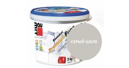 Затирка для швов Baumit Baumacol PremiumFuge серый шелк, 25 кг фото