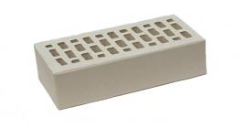 Кирпич керамический облицовочный пустотелый ЛСР светло-серый гладкий 250*120*65 мм фото