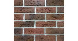 Облицовочный камень Красный камень Dover brick DB-63/R, 240*71 мм фото