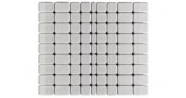 Тротуарная плитка BRAER Классико серебристый, 115*60 мм фото
