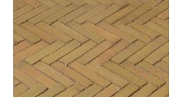 Клинкерная тротуарная брусчатка ручной формовки Penter Brons wasserstrich, 200х50х85 мм фото
