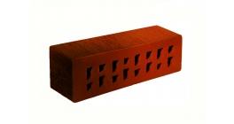 Кирпич клинкерный облицовочный пустотелый ЛСР Ноттингем красный флэшинг тростник 250*85*65 мм фото