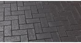 Брусчатка тротуарная клинкерная Feldhaus Klinker 609 umbra ferrum 200*100*45 мм фото