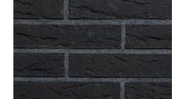 Кирпич клинкерный облицовочный пустотелый Terca Nordic Retro Line Black, 285*85*60 мм фото