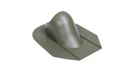 Проходной элемент VILPE HUOPA/SLATE для мягкой кровли, зеленый фото