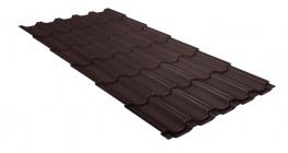 Металлочерепица Гранд Лайн (Grand Line) Kvinta Velur20 0.5 RAL 8017 шоколад фото