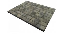 Тротуарная плитка Браер Прямоугольник Color Mix Вечер, 200*100*40 мм фото