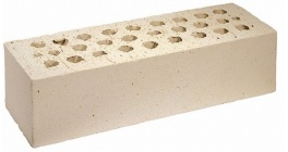 Кирпич керамический облицовочный пустотелый Terca Kuura гладкий 250*85*65 мм фото