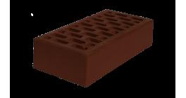Кирпич рядовой пустотелый ЛСР темно-коричневый М150_Б 1НФ, 250*120*65 мм фото