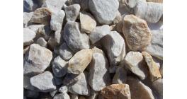 Крошка мраморная белая Гранит Групп, 20-40 мм фото