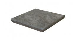 Клинкерная угловая ступень Interbau Abell 273 Графитово-серый 320x320x9,5 мм фото