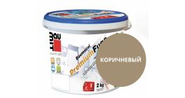 Затирка для швов Baumit Baumacol PremiumFuge коричневый, 25 кг фото