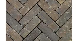 Клинкерная тротуарная брусчатка ручной формовки Penter Incana wasserstrich tumbled, 200х65х85 мм фото