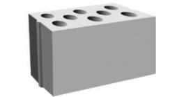 Блок силикатный рядовой пустотелый стеновой Павловский завод 300*198*130 мм фото