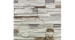 Искусственный камень Балтфасад Корунд серый 500×100, 300×100 мм фото