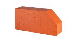Кирпич керамический облицовочный фигурный полнотелый Lode Janka F6 гладкий 250*120*65 мм фото
