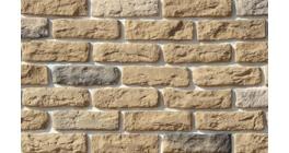 Искусственный камень White Hills Брюгге брик угловой элемент цвет 315-25 фото