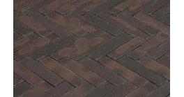 Клинкерная тротуарная брусчатка ручной формовки Penter Incana wasserstrich, 200х50х85 мм фото