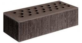 Кирпич керамический облицовочный пустотелый Керма Шоколад УТ.СТ бархат 1NF 250*120*65 мм фото