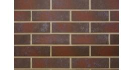 Клинкерная фасадная плитка под кирпич Paradyz Semir Brown, 245*65*7,4 мм фото