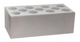 Кирпич силикатный облицовочный пустотелый Павловский завод утолщенный белый 250*120*88 мм фото