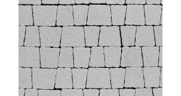 Тротуарная плитка ВЫБОР Антик StoneMix белый, Б.3.А.6 фото