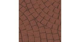 Тротуарная клинкерная брусчатка Lode Brunis шероховатая мозайка, 60*60*52 мм фото