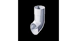 Слив трубы ТехноНИКОЛЬ (Verat) белый, D 82 мм фото