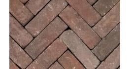 Клинкерная тротуарная брусчатка ручной формовки Penter Novoton tumbled, 200х65х85 мм фото