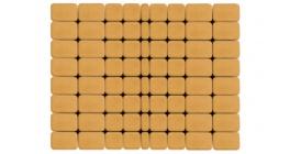 Тротуарная плитка BRAER Классико медовый, 115*60 мм фото