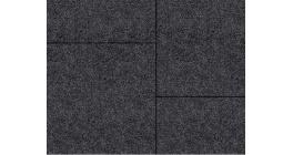 Тротуарная плитка ВЫБОР Квадрат StoneMix Черный, Б.7.К.8 фото