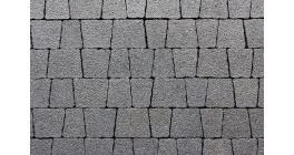 Тротуарная плитка ВЫБОР Антик StoneMix черный, Б.3.А.6 фото