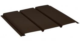 Софит без перфорации AQUASYSTEM темно-коричневый (RR32), 2,4*0,303 м фото