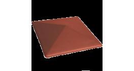 Клинкерный заборный оголовок Lode Libra, 445*585*106 мм фото