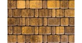 Тротуарная плитка ВЫБОР Старый город ColorMix Янтарь, Б.1Псм.6 фото