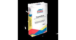 Цементно-известковая штукатурка PEREL TeploRob 0518, 20 кг фото