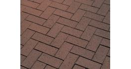 Тротуарная клинкерная брусчатка Feldhaus Klinker P402DF gala plano, 240*118*52 мм фото