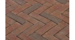 Клинкерная тротуарная брусчатка ручной формовки Penter Ravenna 200х65х85 мм фото
