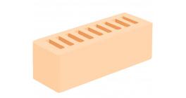 Кирпич керамический облицовочный пустотелый Голицынский КЗ Слоновая кость гладкий 250*85*65 мм фото