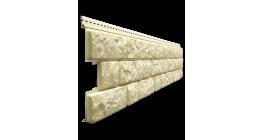 Виниловый сайдинг Docke Lux, Bergrat под камень, кешью, 1809*285*1 мм фото