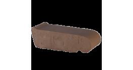 Керамический подоконник Lode Brunis коричневый, 225*60*88 мм фото